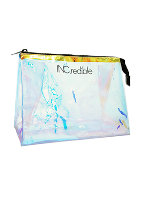 INC.redible Cosmetics Holographic Make-Up Bag