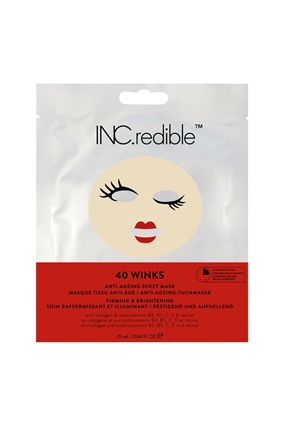 INC.redible Cosmetics 40 Winks Anti-Ageing Face Mask