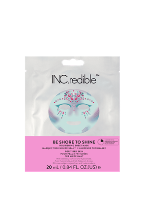 INC.redible Cosmetics Be Shore To Shine Brightening Face Mask