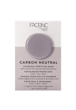 INC.redible Cosmetics Carbon Neutral Purifying Face Mask