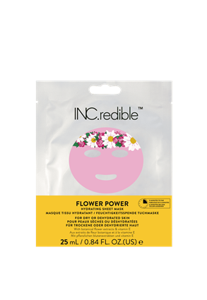 INC.redible Cosmetics Flower Power Hydrating Face Mask