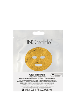 INC.redible Cosmetics Gilt Tripper Exfoliating Face Mask