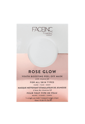 INC.redible Cosmetics Rose Glow Hydrating Face Mask