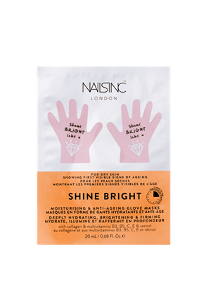 Shine Bright Hydrating Hand Mask