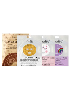 INC.redible Cosmetics Magic In Madness Face Mask Collection
