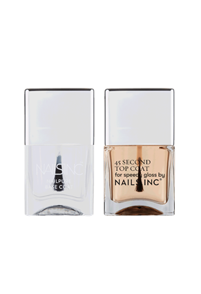 Nails.INC 45 Second Quick Drying Base and Top Coat Duo