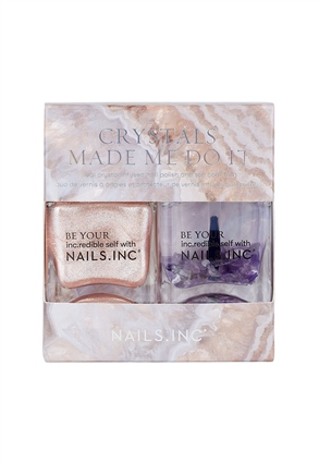 Crystals Made Me Do It Crystal-infused Nail Polish Duo