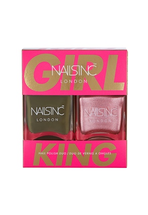 Nails.INC Girl King Nail Polish Duo