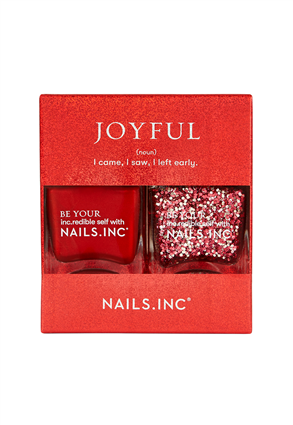 Nails.INC Joyful Nail Polish Duo