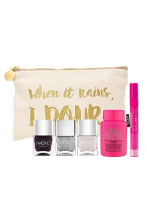 Nails.INC When It Rains, I Pour Nail Set