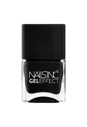 Nails.INC Black Taxi Gel Effect Nail Polish