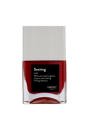 Nails.INC Sexting Nail Polish