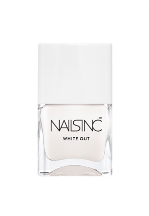 White Out Nail Polish
