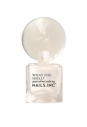 World's Your Oyster Babe Iridescent Nail Polish