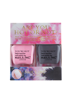 Nails.INC Are You Hot or Not? Colour Changing Nail Polish Duo