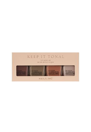 Nails.INC Keep It Tonal 4-Piece Ombre Nail Polish Set