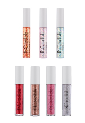 INC.redible Cosmetics Glittergasm Lip Gloss Kit