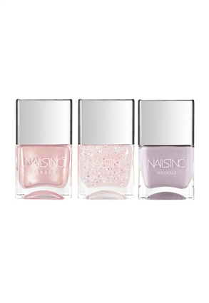 Nails.INC The Future is Fairy Nail Polish Trio