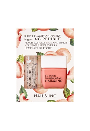 Nails.INC Peachy and Perky Nail and Lip Duo