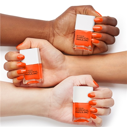 Naked In Neon 4-Piece Nail Polish Set