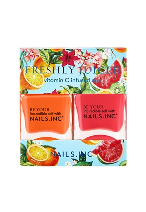 Nails.INC Freshly Juiced Scented Nail Polish Duo