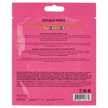 Double Perks Nourishing Boob Mask