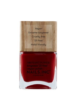 Nails.INC Swear By Salutation Plant Based Vegan Nail Polish