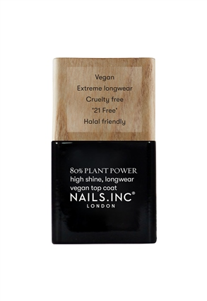 Nails.INC Plant Power Plant Based Vegan Top Coat