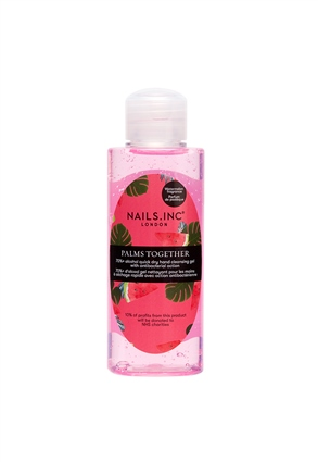 Nails.INC Palms Together Hand Sanitiser Gel Watermelon Scent