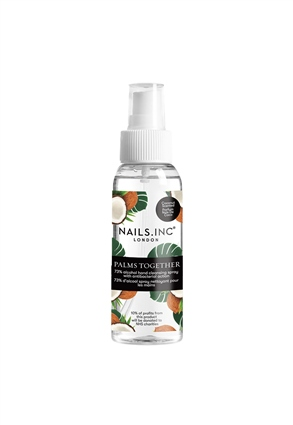 Nails.INC Palms Together Hand Sanitiser Spray Coconut Scent