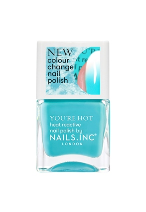 Feel The Hotness Colour changing Nail Polish