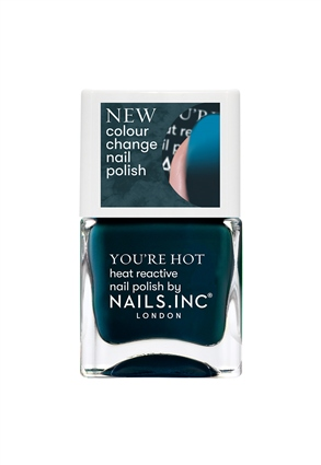 Nails.INC Getting Hot In Here Colour changing Nail Polish