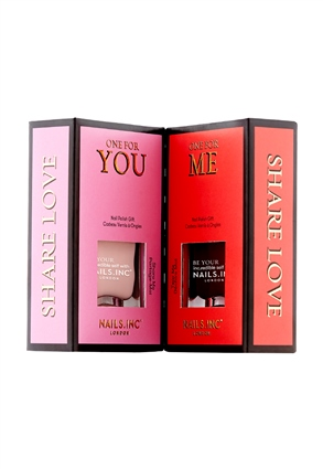 Nails.INC Share Love Nail Polish Duo