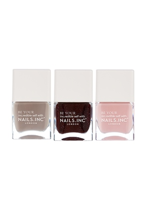 Nails.INC Party On Repeat Nail Polish Trio