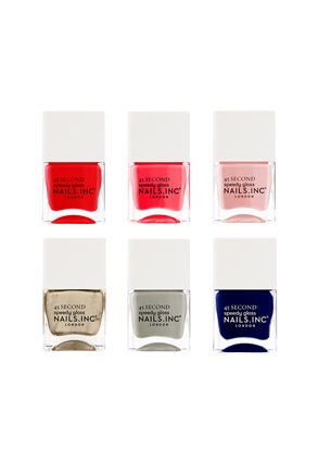 Nails.INC Girl on the Go Nail Polish Set