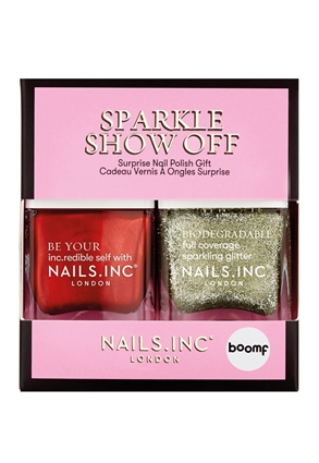 Nails.INC Sparkle Show Off Surprise Nail Polish Duo