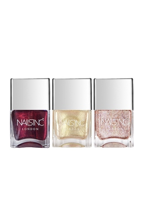 Nails.INC Metallic Magic Nail Polish Trio