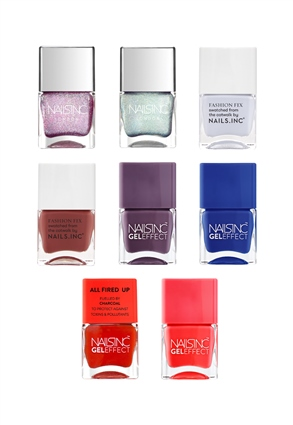 Nails.INC Colour Pop Nail Collection