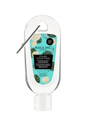Nails.INC Palms Together Clipped Hand Sanitiser Gel Sea Breeze Scent 60ml