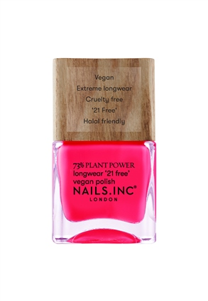 Nails.INC And Breathe Plant Power Vegan Nail Polish