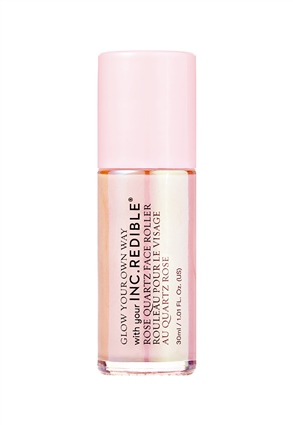 INC.redible Cosmetics Glow Your Own Way Hydrating Rose Quartz Face Roller