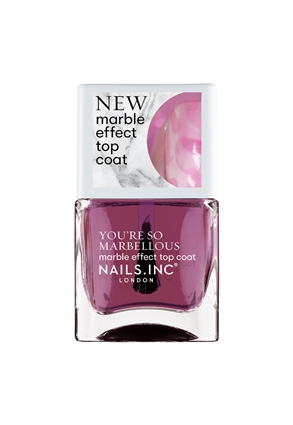 Nails.INC May The Quartz Be With You Marble Effect Nail Polish