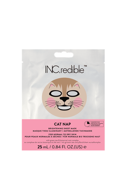 INC.redible Cosmetics (US) Cat Nap Brightening Face Mask