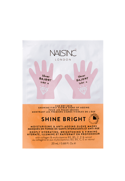 Shine Bright Hydrating Hand Mask  - Click to view a larger image