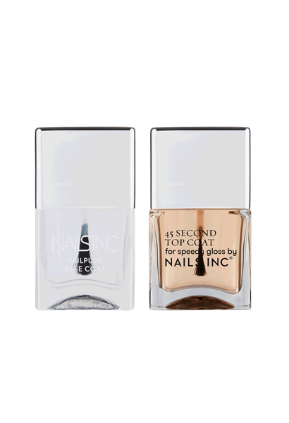 45 Second Quick Drying Base and Top Coat Duo  - Click to view a larger image