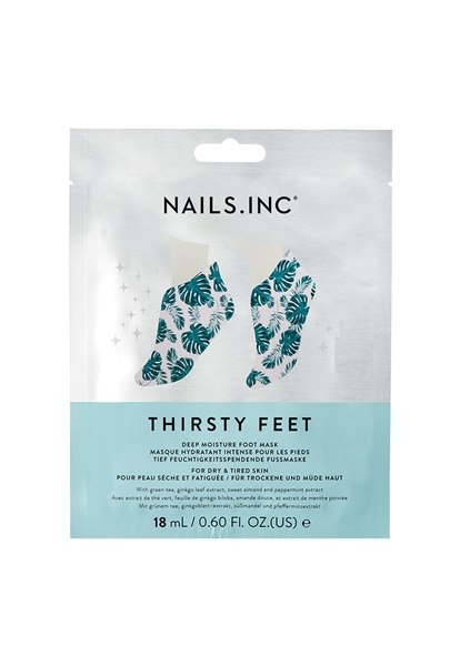 Thirsty Feet Moisturising Foot Mask  - Click to view a larger image