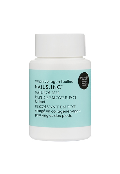 Powered by Vegan Collagen Nail Polish Remover  - Click to view a larger image