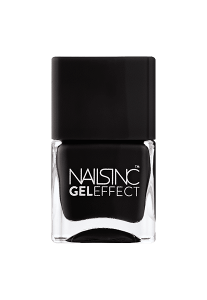 Black Taxi Gel Effect Nail Polish  - Click to view a larger image
