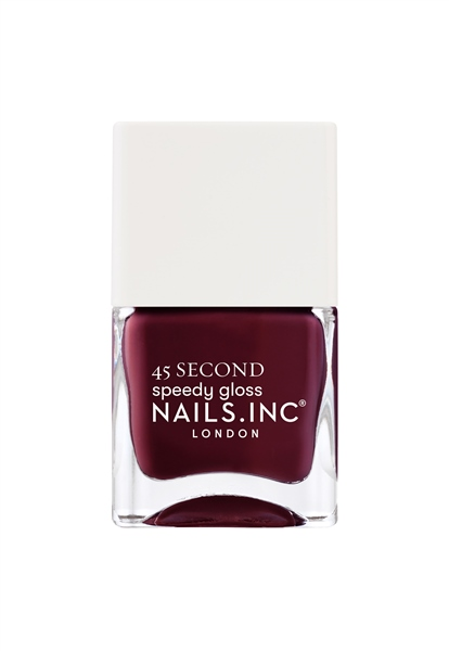 Meet Me On Regents Street Quick Drying Nail Polish  - Click to view a larger image