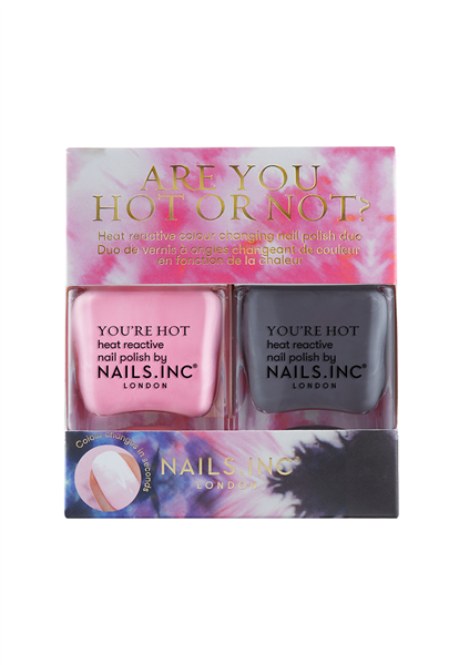 Are You Hot or Not? Colour changing Nail Polish Duo  - Click to view a larger image
